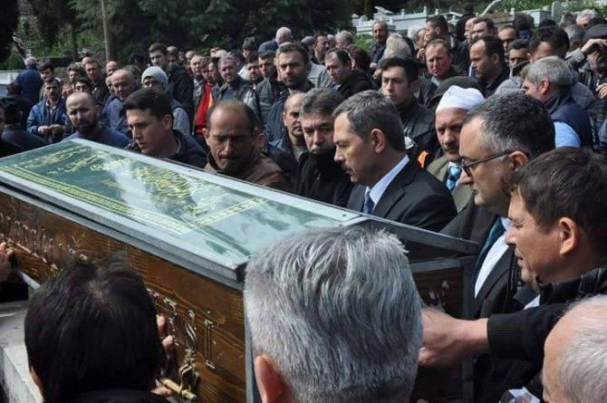Kalp Krizinden Ölen Belediye İşçisi Dualarla Uğurlandı
