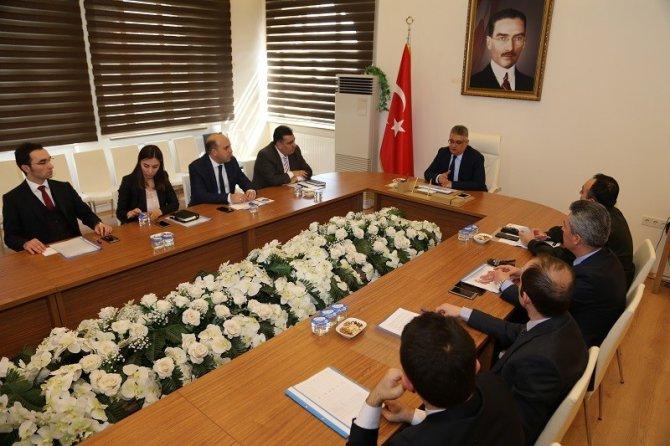 Aksaray'da Seçim Güvenliği Toplantısı Yapıldı