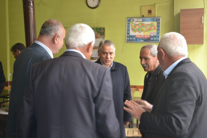Milletvekili Boynukara, Çelikhan İlçesini Ziyaret Etti
