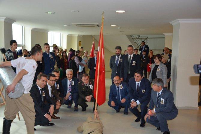 Aliağa'da Duygulandıran Çanakkale Programı