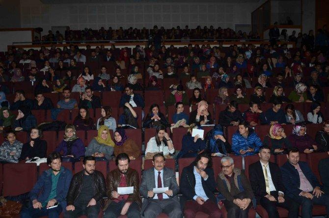 Adıyaman Üniversitesi'nde Şiir Dinletisi