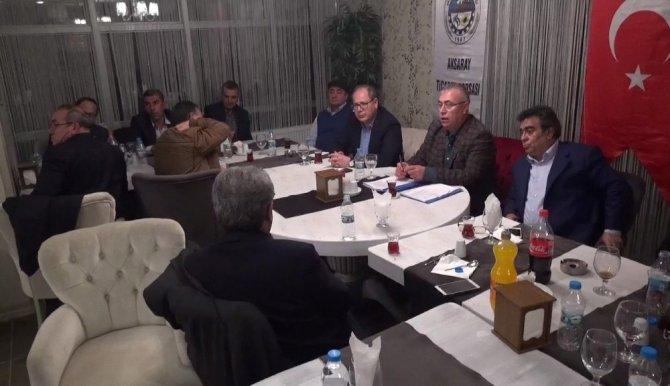 Aksaray Ticaret Borsası Ortaköy'de İstişare Toplantısı Düzenledi