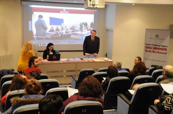 Rehber Öğretmenlere Açıköğretim Sistemi Anlatıldı
