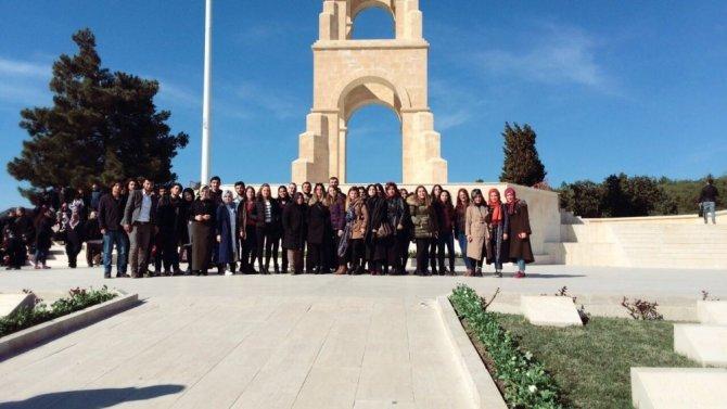 Beü Öğrencileri 57. Piyade Alay Şehitliği'ni Ziyaret Etti