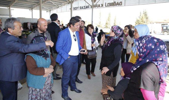 Başkan Genç, Milletvekili Kök İle Birlikte Referandum Çalışmasına Katıldı