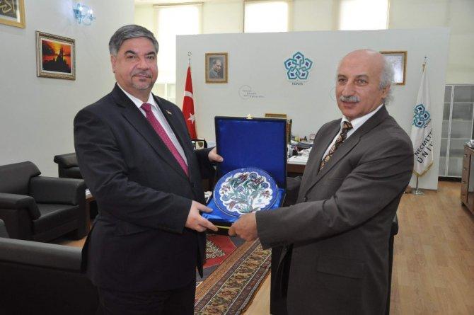 Irak Büyükelçisi Al-alawi'den Neü'ye Ziyaret