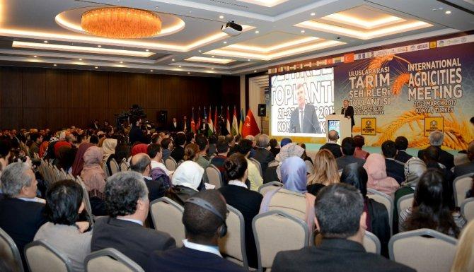 Uluslararası Tarım Şehirleri Toplantısı Konya'da Yapılıyor