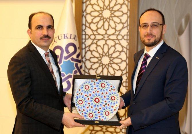 Okka'dan Başkan Altay'a Teşekkür Ziyareti