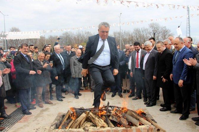 Omü'de Nevruz Bayramı Coşkuyla Kutlandı
