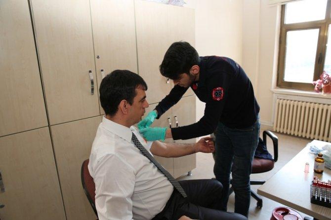 Melikgazi Belediyesi Çalışanları Sağlık Taramasında