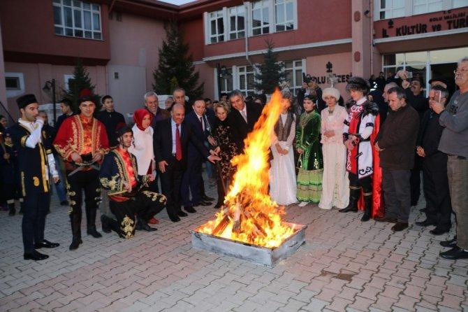 Nevruz Bolu'da Coşkuyla Kutlandı
