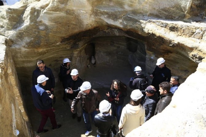 Bosna Hersek Ve Sırbistan Gazetecileri Dünyanın En Büyük Yer Altı Şehrine Hayran Kaldı
