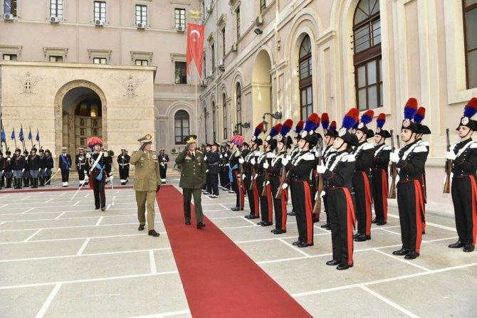 Genelkurmay Başkanı Akar'ın İtalya Ziyareti