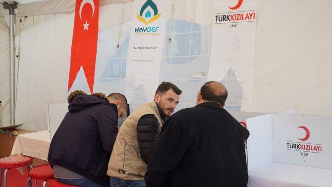 Hayder Ve Kızılay'dan Kan Bağışı Kampanyası