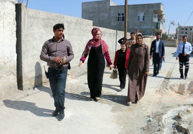Akçakale Belediyesi Metruk Binada Kalan Aileyi Sıcak Yuvaya Kavuşturuyor