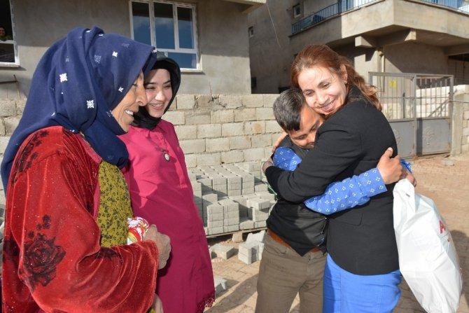 Siverek'te Down Sendromlu Çocuklara Anlamlı Ziyaret