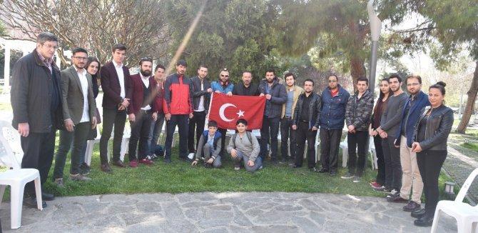 """Başkan Doğan, """"Kardeşlik İçin Evet"""" Sloganıyla Yürüyen Grupla Buluştu"""