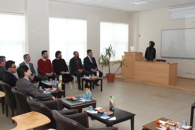 Hizan Myo'da 'Akademik Kurul' Toplantısı