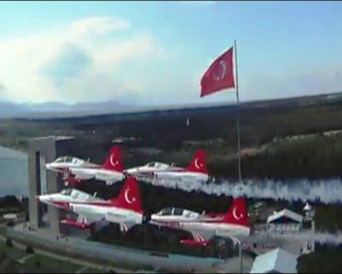 Türk Yıldızları'ndan Muhteşem Klip