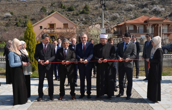 Tika'dan Karadağ Mehmed Fatih Kız Medresesine Destek