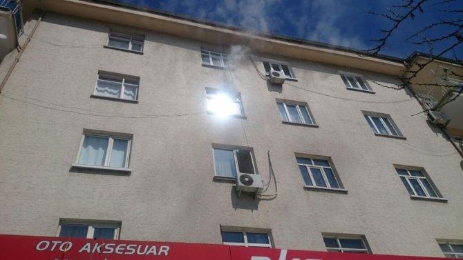 Malatya'da Ev Yangını