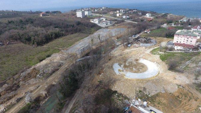 Çok Amaçlı Modern Parkın İnşaat Çalışmaları Aralıksız Sürdürülüyor