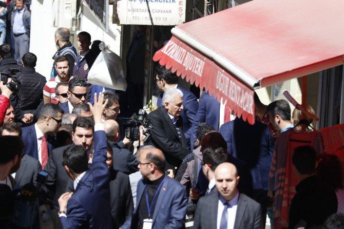 Başbakan Yıldırım Burdur'da