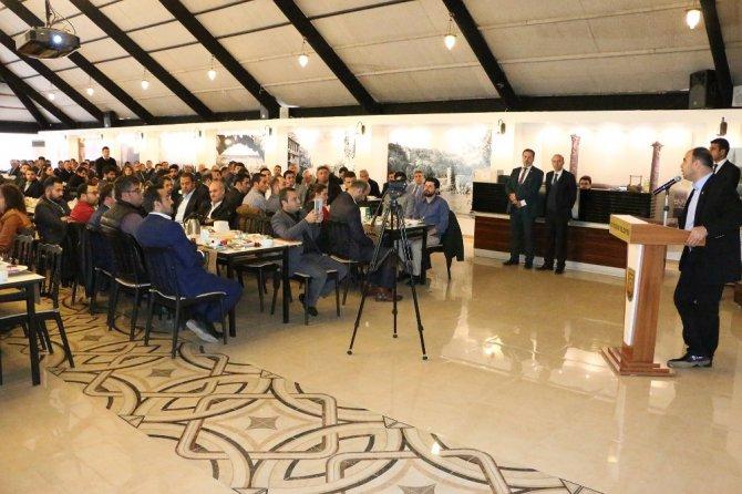Başkan Çiftçi Teknik Kadroyla Şanlıurfa'yı Konuştu