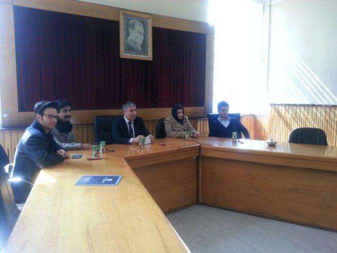Öğrencilerden Başkan Aksoy'a Ziyaret