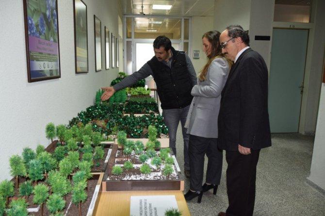 Düzce Üniversitesinde Doğa Ve Bilim Sergisi