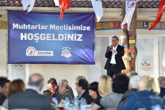 Muhtarlar Meclisi 2017'nin İlk Toplantısını Yaptı