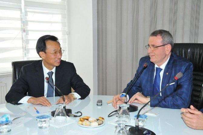 Çinli Heyet İşbirliği İçin Samsun'da