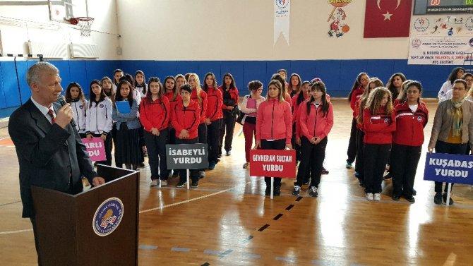 Kyk'da Voleybol Heyecanı Başladı