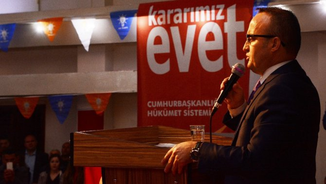Turan, Gelibolu'da Vatandaşlarla Buluştu