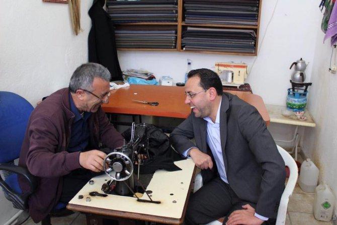 Milletvekili Gizligider, Kozaklı'da Çalışmalarına Devam Etti