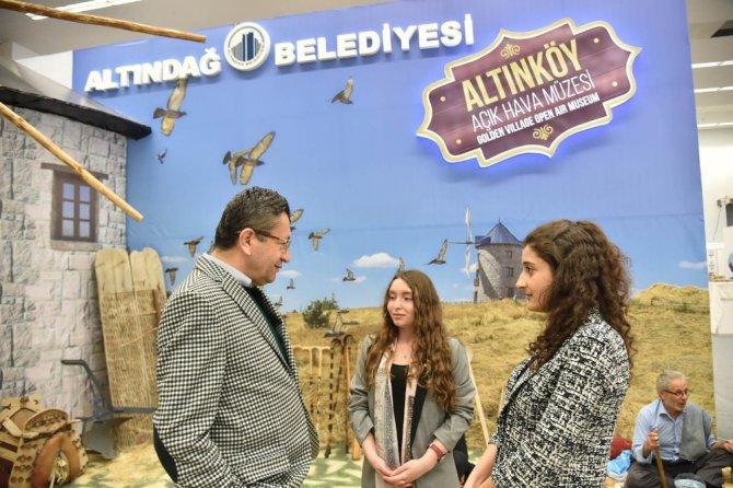 Ankara Turizm Fuarı'nın Gözdesi, Altındağ Belediyesi
