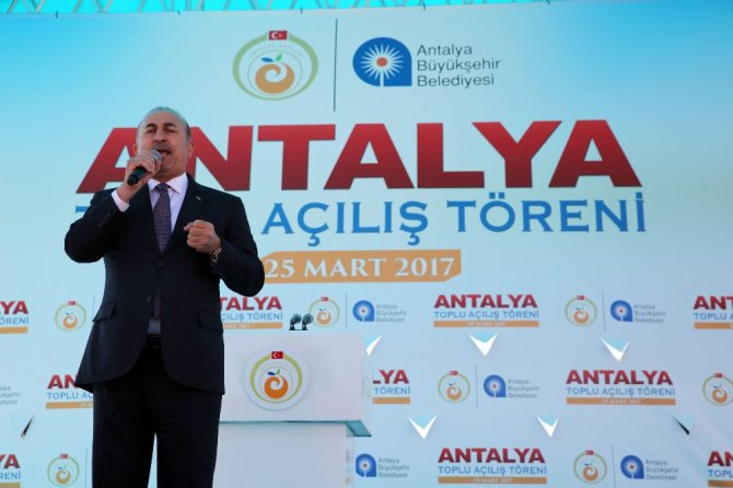 Antalya'da Toplu Açılış Töreni