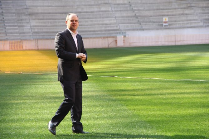 """Bakan Kılıç: """"Yeni Stadyum Hazır, En İyi Çim Samsun'da"""""""
