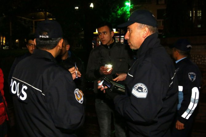 Keçiören'de Huzur Ve Güvenlik Operasyonu