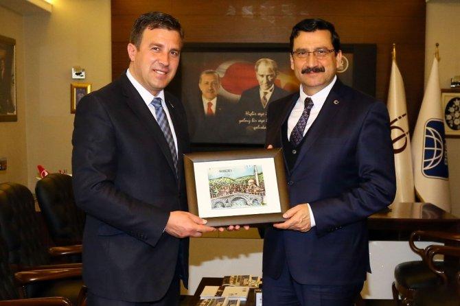 Kosova Devlet Bakanı, Keçiören Belediyesini Ziyaret Etti