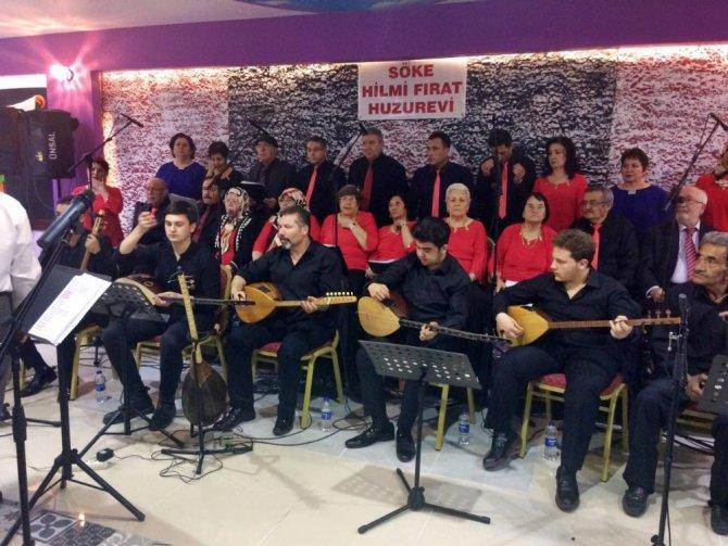 Söke Huzurevi Thm Korosundan Yaşlılar Haftası Konseri
