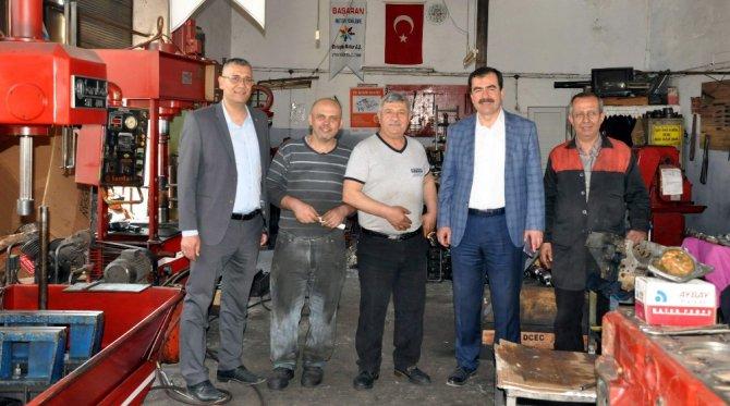 Aydın Ak Parti Sanayi Esnafına 'Evet'i Anlattı