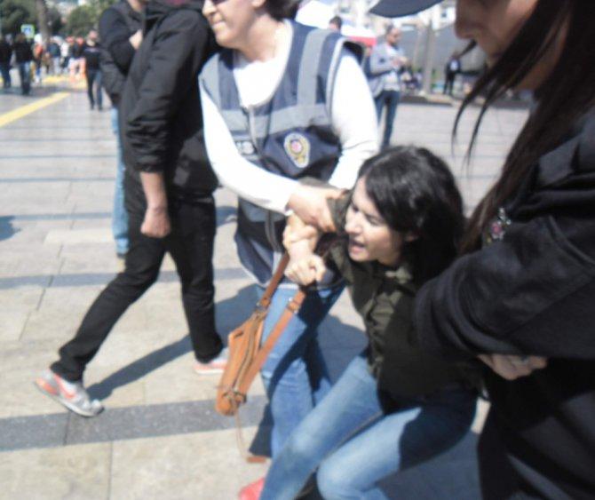 Aydın'da İzinsiz Gösteri Yapmak İsteyen Grup Gözaltına Alındı
