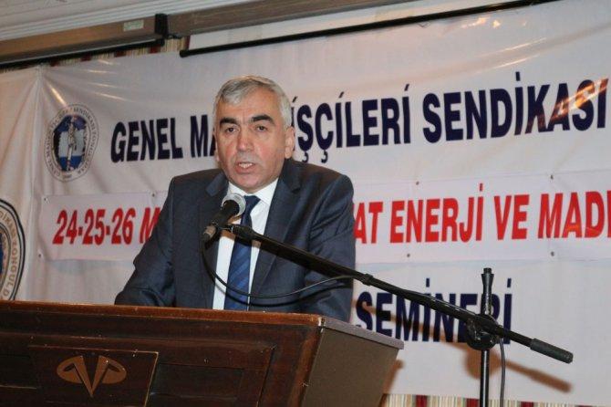 Hattat Enerji Amasra Kömür İşletmesi Semineri Yapıldı