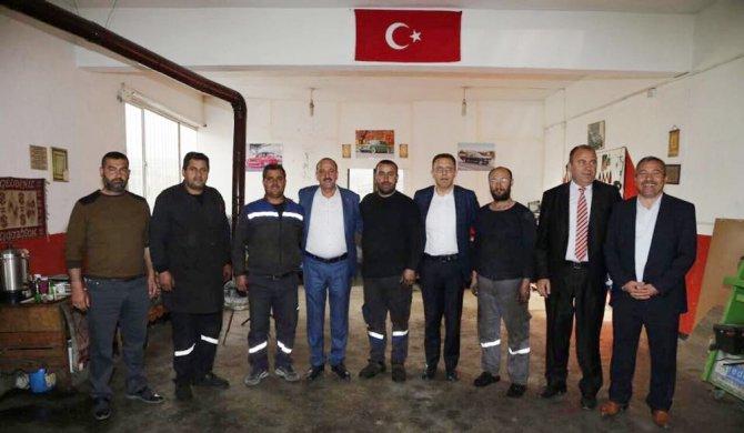Başkan Duruay, Milletvekili Aydın İle Esnafı Ziyaret Etti