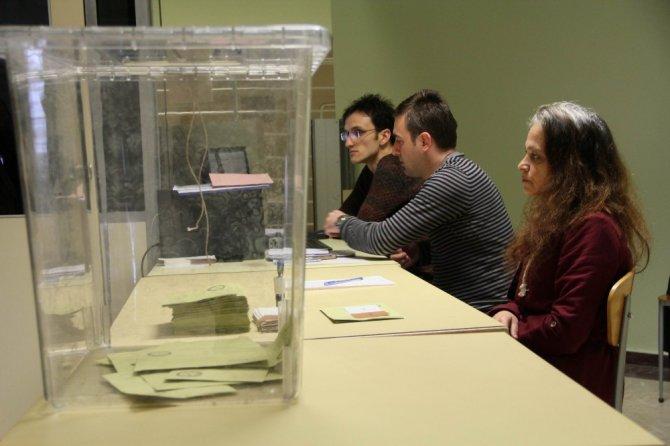 Samsun'da Gümrük Kapılarında Oy Kullanma İşlemleri Başladı