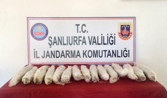 Şüpheli Araçtan 11,5 Kilo Uyuşturucu Çıktı