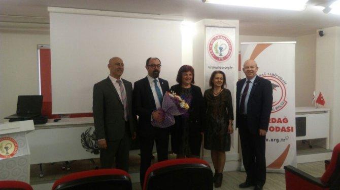 Sağlıkta Bilgilendirme Toplantılarında Akılcı İlaç Kullanımı Konulu Konferans İlgi Gördü