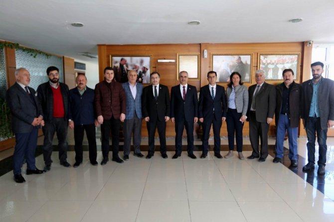 "Ak Parti İl Başkanı Şahin, ""Yeni Miting Alanına İhtiyacımız Var"""