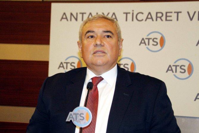 """Antalya Ticaret Ve Sanayi Odası Başkanı Çetin: """"Mart Ayı Turizm Bakımından İyi Bir Dönem Olmadı"""""""